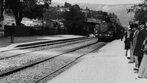 L'Arrivée d'un train en gare de La Ciotat (Die Ankunft eines Zuges auf dem Bahnhof in La Ciotat)