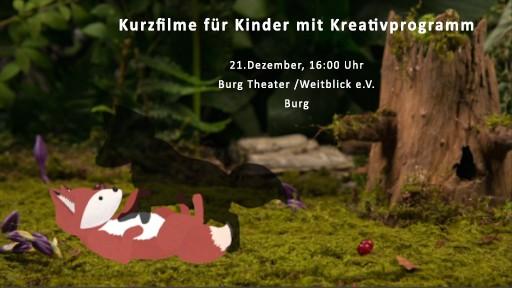 Kurzfilme für Kinder mit Kreativprogramm