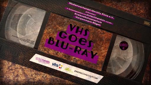 VHS goes BLU-RAY