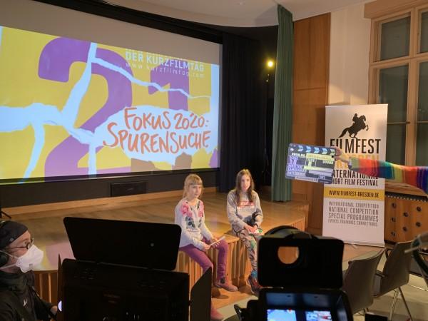 Der KURZFILMTAG 2020 im Lingnerschloss. (c) Filmfest Dresden