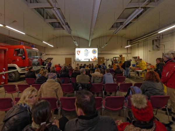 Zu Gast in der einzigartigen Kulisse des Katastrophenschutz Bamberg